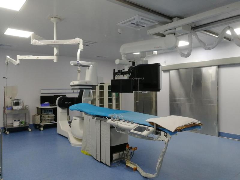 数字减影血管造影X线机(DSA)